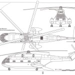 Aérospatiale SA 321 Super Frelon blueprint