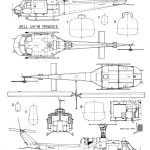 Bell UH-1 Iroquois blueprint