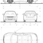 Volkswagen Eos blueprint