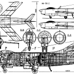 Yak-50 blueprint