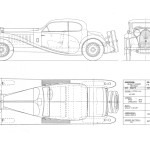 Coupe de Ville blueprint
