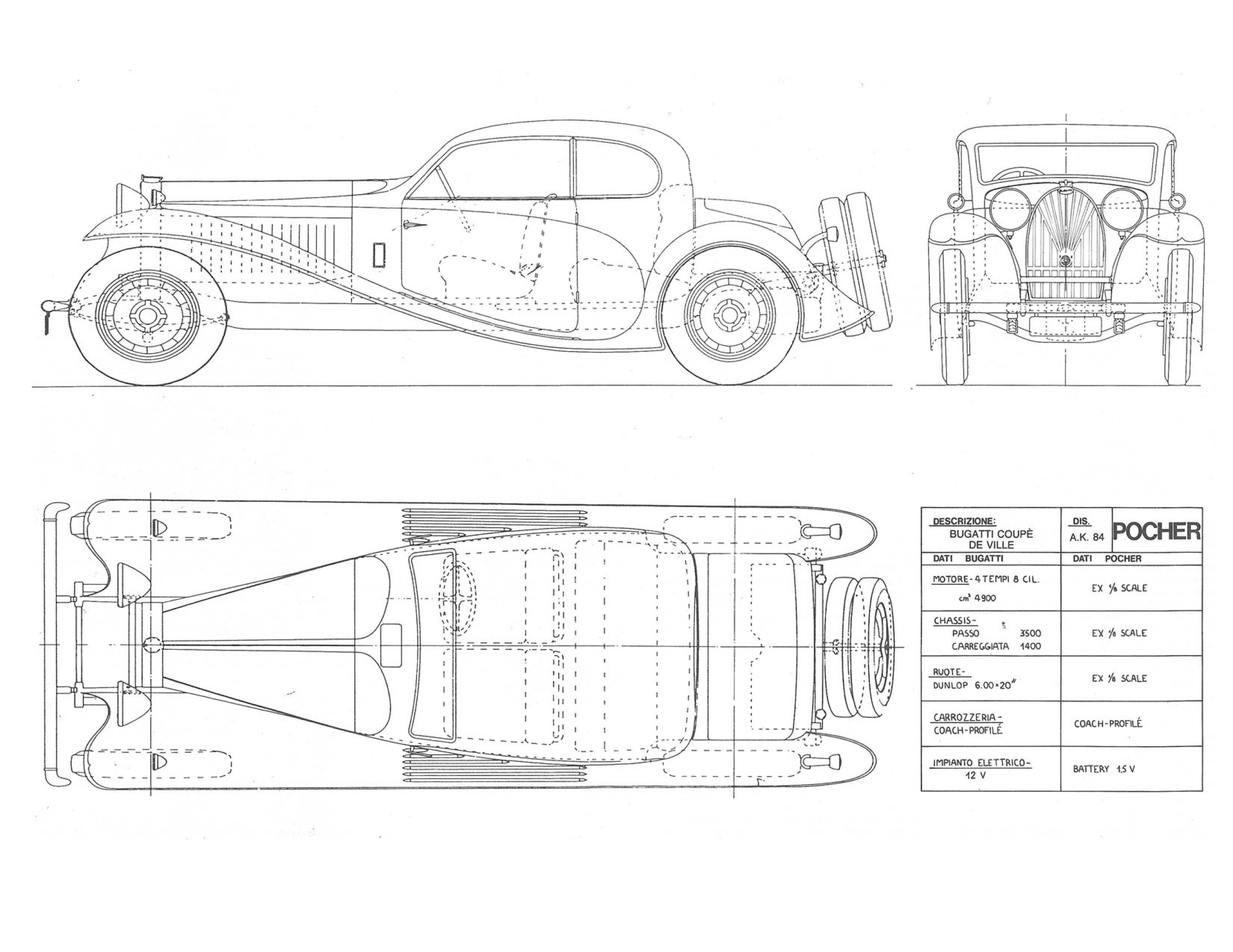 Coupe de ville 1932 blueprint download free blueprint for 3d coupe de ville blueprint malvernweather Images