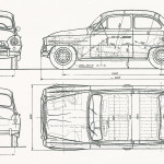 Skoda 440 blueprint