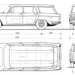 Fiat 2300 blueprint