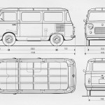 Fiat 600T blueprint