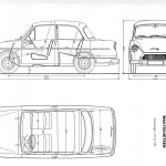 DAF 600 blueprint