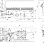 KAMAZ-43114 blueprint