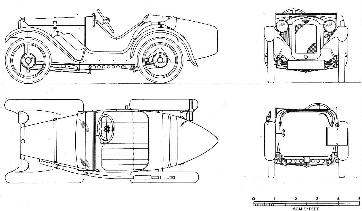 Austin 7 blueprint