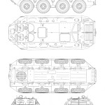 BTR-60 blueprint