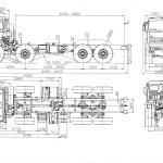KamAZ 63501 blueprint