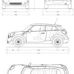 Mini Paceman blueprint