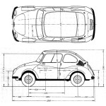 Subaru 360 blueprint