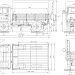 UAZ-3303 blueprint