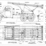 ZiS 151 Katyusha blueprint