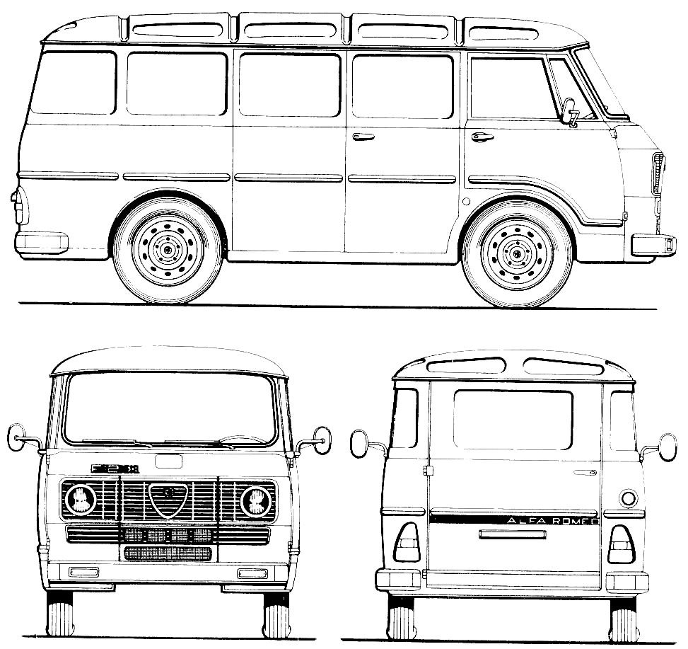 alfa romeo romeo  f11 and a11  1977 blueprint