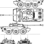 AMX 10 RC blueprint