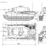 Tiger II blueprint