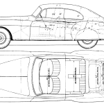 Bentley R Type blueprint