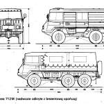 Pinzgauer blueprint