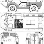 Véhicule de l'Avant Blindé blueprint