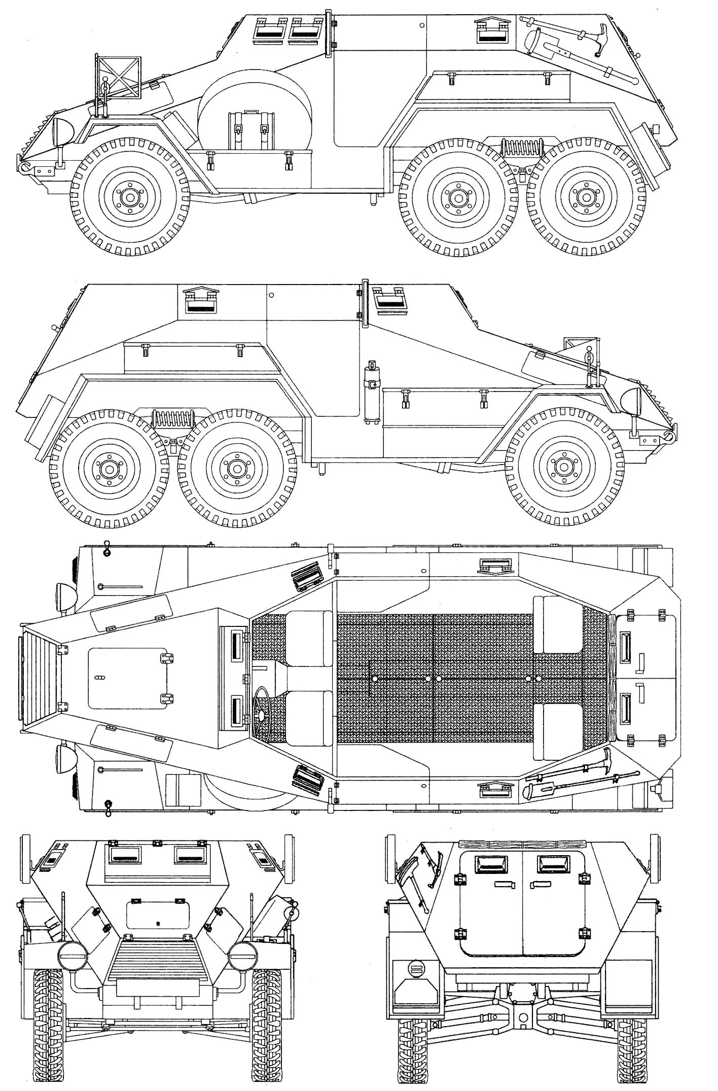Sd.Kfz. 247 blueprint