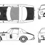 Toyota Sports 800 blueprint