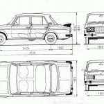 VAZ-2106 blueprint