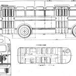 ZIS 155 blueprint