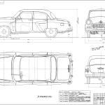 GAZ-23 blueprint