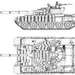 T-72 blueprint