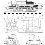 Cruiser tank blueprint
