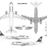 Airbus A320-200 blueprint