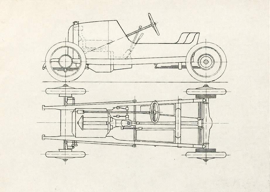 austro daimler blueprint