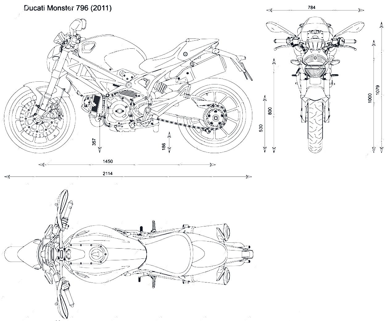 Ducati Monster 796 Blueprint Download Free Blueprint For