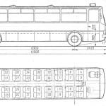 Ikarus 250 blueprint