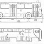 Ikarus 260 blueprint