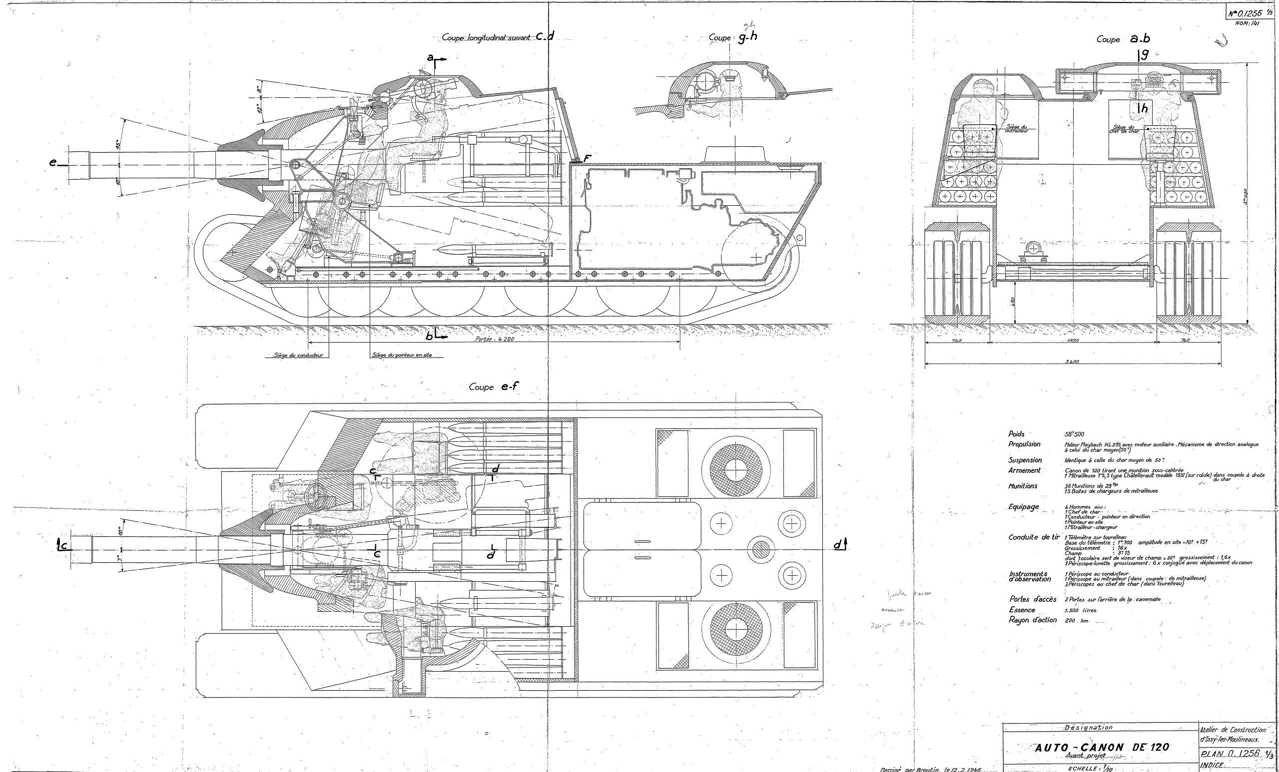 Amx ac mle 1946 blueprint download free blueprint for 3d modeling amx ac mle blueprint malvernweather Images