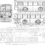 LAZ-698 blueprint