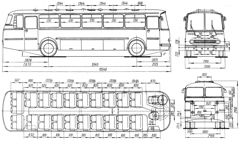 LAZ-699 blueprint