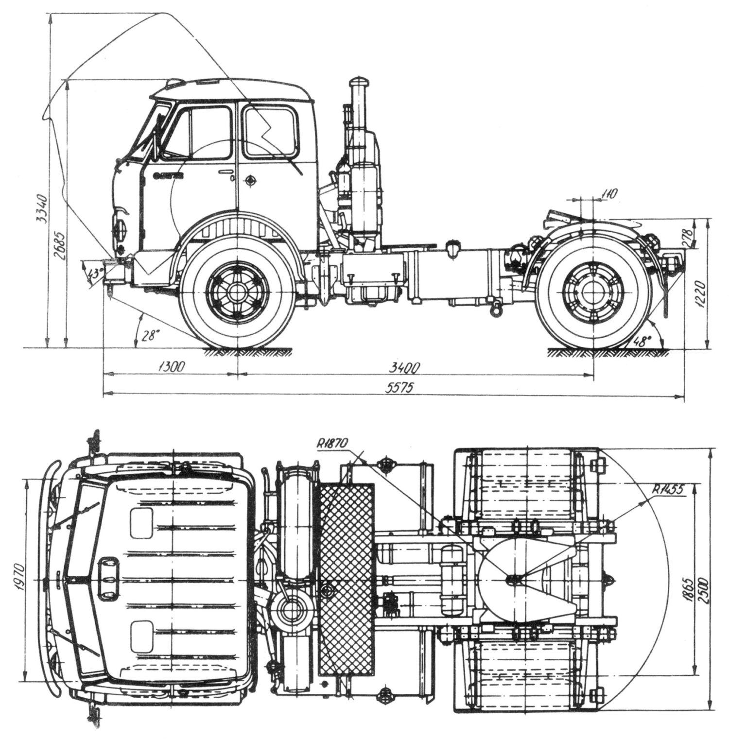MAZ 504V blueprint