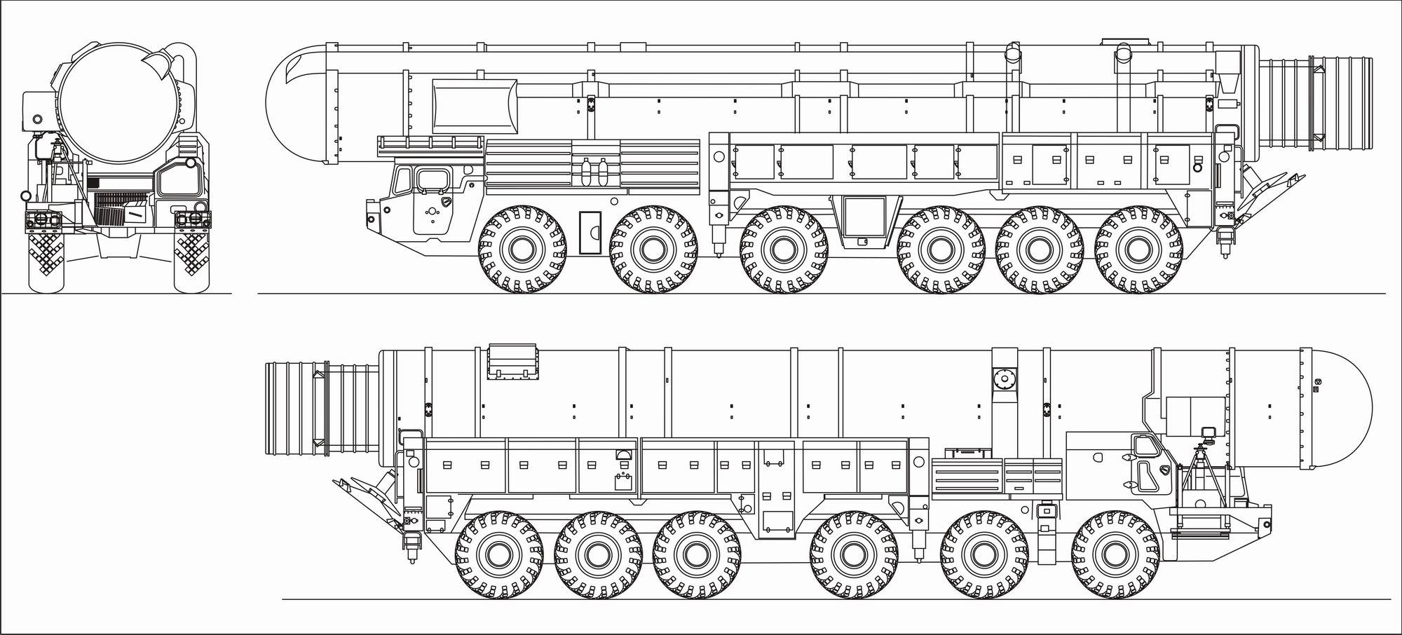 MAZ 547V blueprint