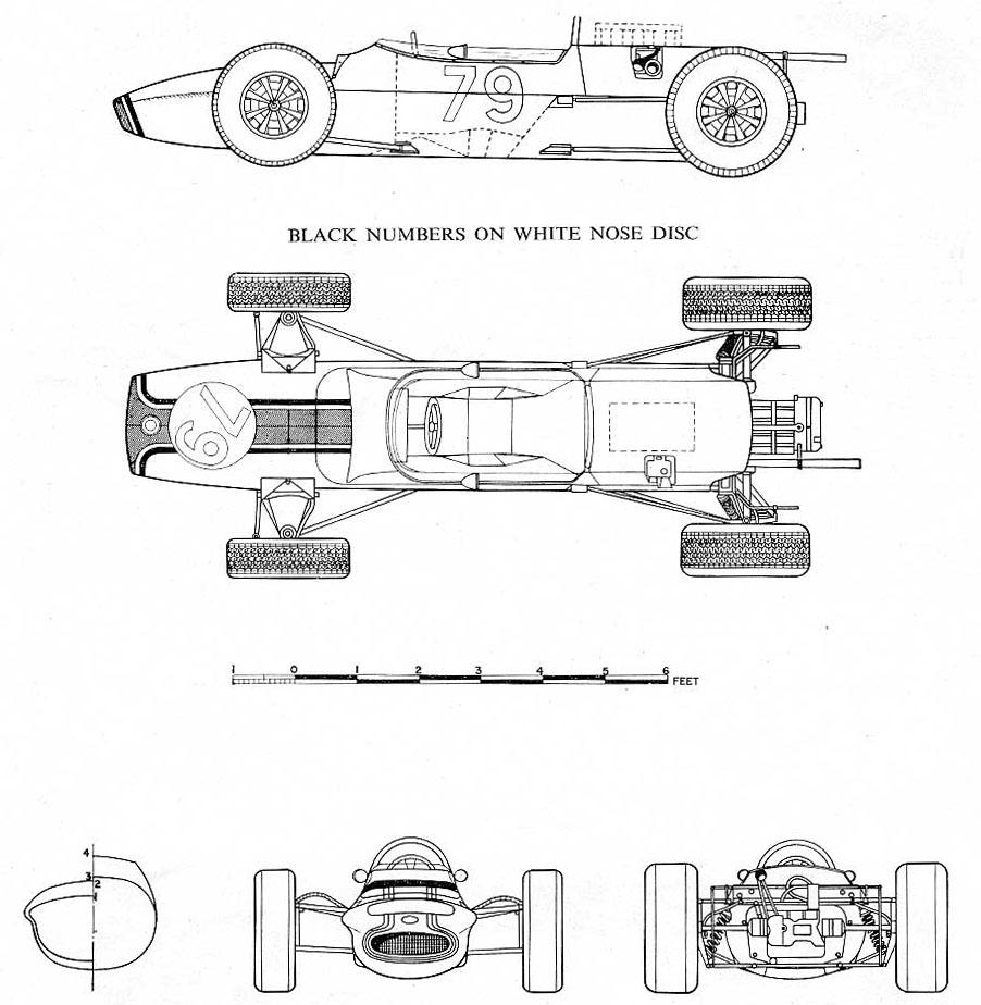 Matra MS5 blueprint