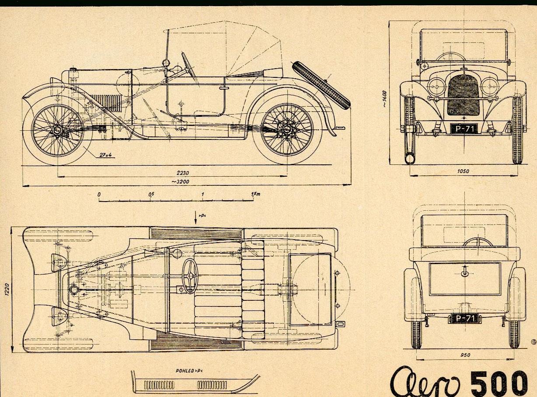 Aero 500 blueprint