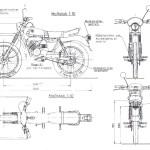 Puch Minicross TT blueprint