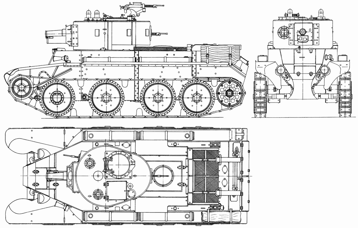 BT-7A blueprint
