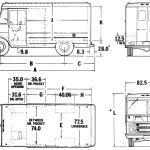 Chevrolet C30 blueprint
