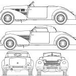 Cord 812 blueprint