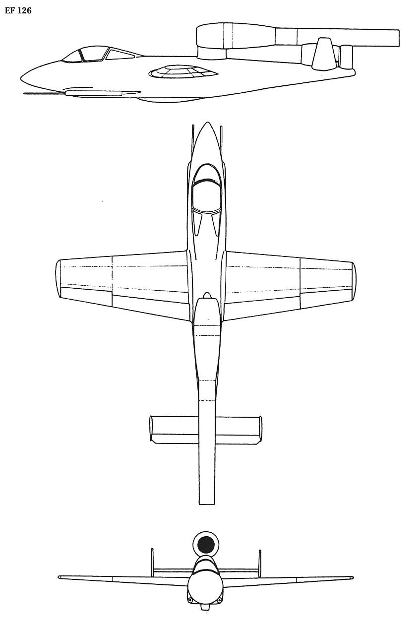 Junkers EF 126 blueprint