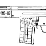 Heckler & Koch G3 blueprint