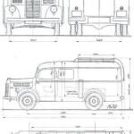 Praga A150 blueprint